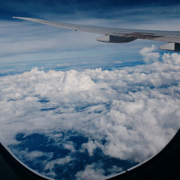 travelphotography myphoto clouds airplaneview window