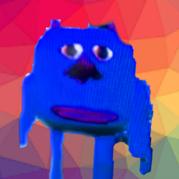 blue i'mblue monster colourblue freetoedit