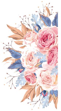 flower flowers pink blue roses freetoedit