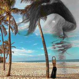 freetoedit cores efeitos praia sol