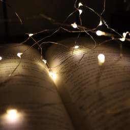 book photography lights christmaslights canon freetoedit