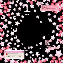 frame kawaii dark black color freetoedit