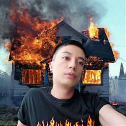 fire house psycho crazy killer