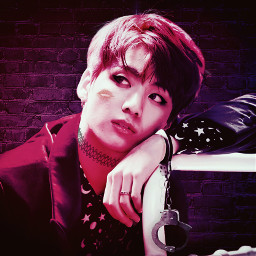 bts jungkook kpop neon love freetoedit