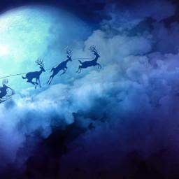 santa winterbreak freetoedit