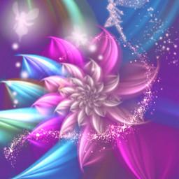 freetoedit fantasyart fairy fairies fairydust srcpurplesparkles purplesparkles