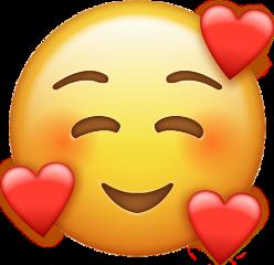 emoji love freetoedit