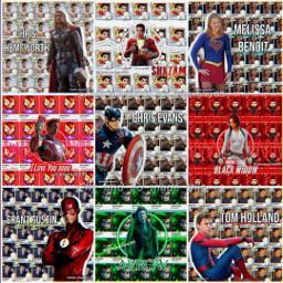 avengers superheroes marvel theflash supergirl