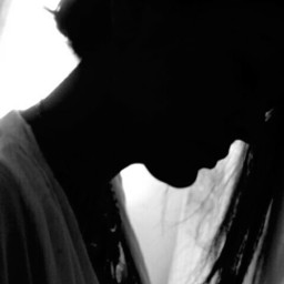 blackandwhite portrait artisticselfie antiselfie woman freetoedit