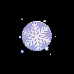 снег новийгод снежинка freetoedit