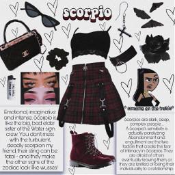 scorpio sign zodiacsign freetoedit