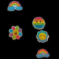 goth cyber rainbow rainbowcore soft freetoedit