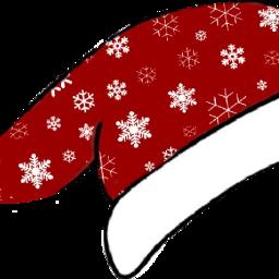 christmas gacha santa hat santahat freetoedit