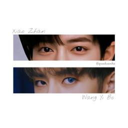 xiaozhan wangyibo eyes freetoedit