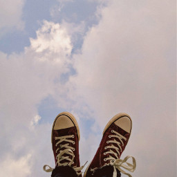 freetoedit shoesoftheday sky creative converse