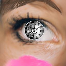 eye clock freetoedit ircmagiceye magiceye