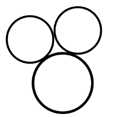circle frame backgrounds black stickers freetoedit