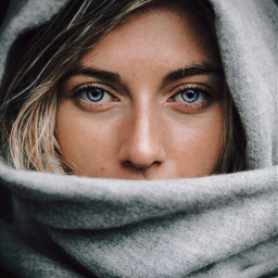 freetoedit girl effect eyes portrait