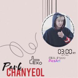 btsshiyoo parkchanyeol chanyeol exoohsehun exowallpaper freetoedit