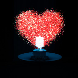 freetoedit heartlight bright red