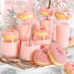 freetoedit÷donut pink pinkdonuts rosa sweets freetoedit