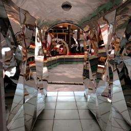 mirror effect taipei city reflect freetoedit