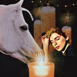 freetoedit harmonie kerzen relax horse ircharmonious harmonious