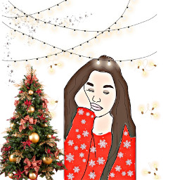 freetoedit me navidad love amore ecchristmasmakeup christmasmakeup