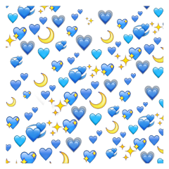 freetoedit blue moon stars night
