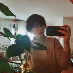 freetoedit mirror mirrorselfie selfie plants