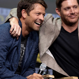 jensenackles mishacollins supernaturalfamily supernatural comicon