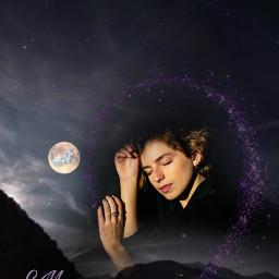 freetoedit originalphoto imageremixchallenge stickers moon ircharmonious harmonious