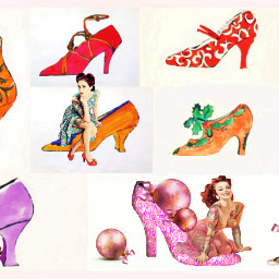 freetoedit shoes vintageshoes vintagestyle pinups