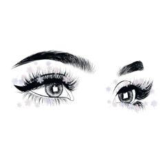eyes snowflake freetoedit
