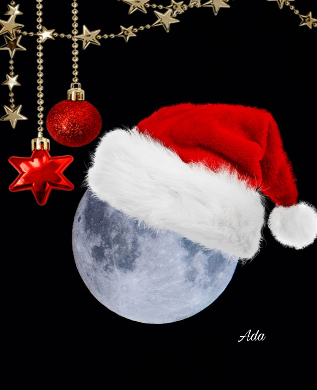 Even the moon is waiting for Christmas 😝❤️  #moon#christmasvibes#freetoedit