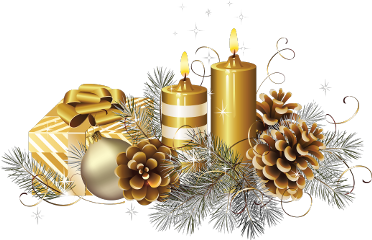 christmas candles ornaments pinecones gift freetoedit