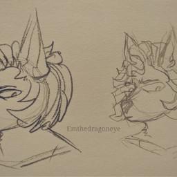 drawing anthro furry art ascot