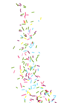 sparkles candies topping tasty ftestickers freetoedit
