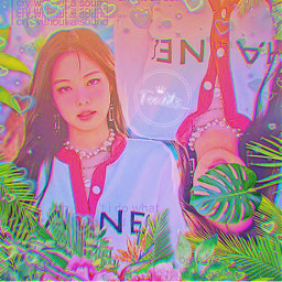jennie jenniekim blackpink kimjennie tropical