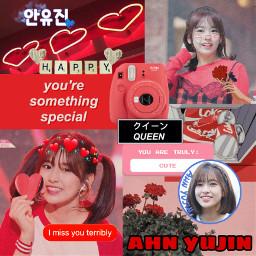 red aesthetic redaesthetic ahnyujin yujin