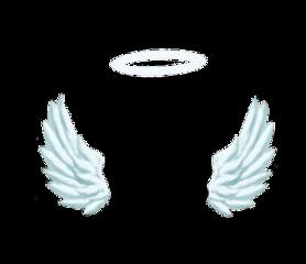 ftestickers stickers angel wings halo freetoedit