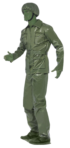 soldier army man green figure freetoedit