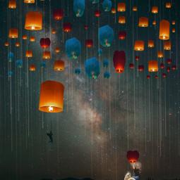 freetoedit top picoftheday galaxy balloon