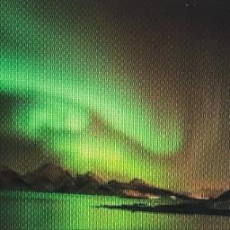 auroraborealis mountainviews freetoedit snowyslopes