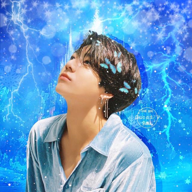 ~New theme~ 💎❄️  #freetoedit #jungkook #btsjungkook #jeonjungkook #jungkookedit #winter #blue #snow #snowflakes #king #christmas