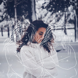 artisticportrait outlines winter ibispaint edited