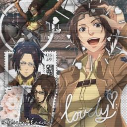 freetoedit hange shingekinokyojin edit animeedit