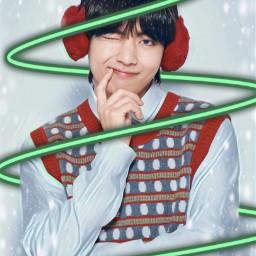 bts btsV taehyung Vbts christmasBTS happyholidays