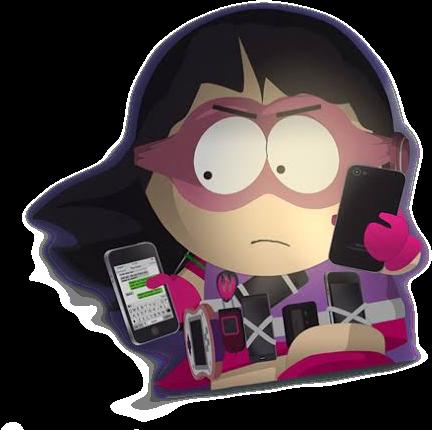 South Park, The Fractured But Whole, Callgirl! #wendytestaburger #callgirl #superhero #southpark #freetoedit