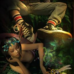 freetoedit fantasy fantasyart fantasygirl fantasyworld ircdeepinthewoods